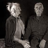 Doreen, Wayne, Corrales, NM, 2011. by Jim Holbrook