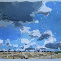 Acrylic painting September 22, 2:00 p.m.  by Harry Stooshinoff
