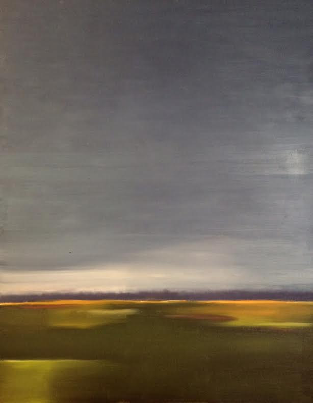 Oil painting Across- SOLD by Sarah Trundle