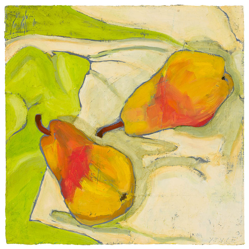 Ray's Pears #2  by Patty Yehle