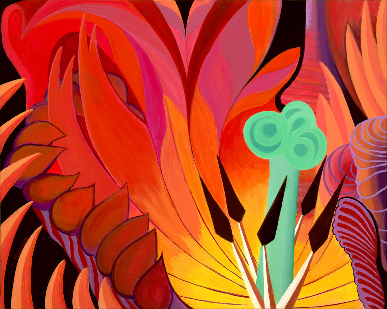 Acrylic painting TULIPOMANIA by Richard Robertson