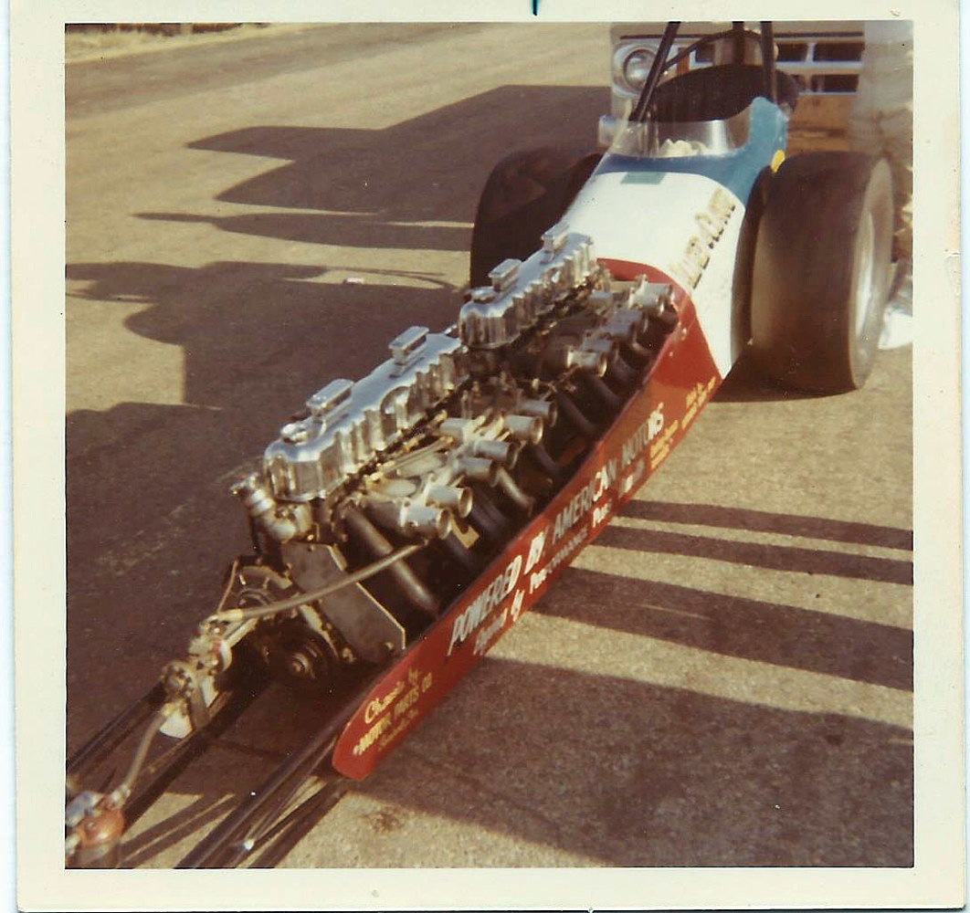 Photography Dual Engine Dragster by Tom Kenyon