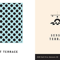 SUNSET TERRACE  (design by Logan Sturrock) by Marie-hélène Tessier