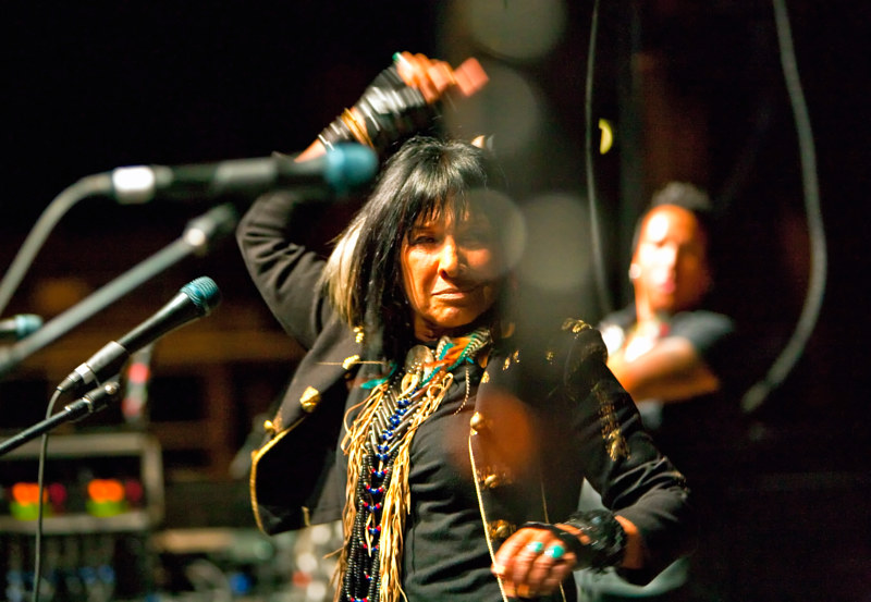 Buffy St. Marie, 2011 by Jim Holbrook