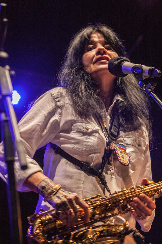 Joy Harjo, 2015 by Jim Holbrook