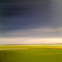 Oil painting Soft Focus Landscape- SOLD by Sarah Trundle