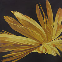 Oil painting Gold Hybrid by Robert Porazinski