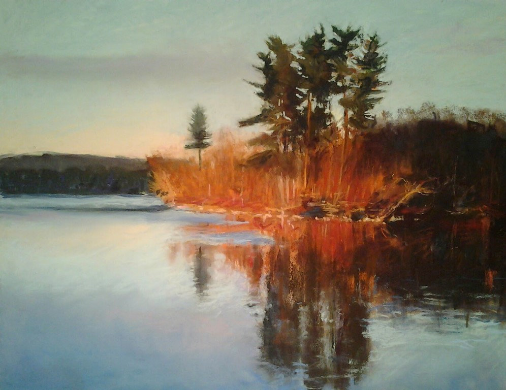Loch Raven Winter  National Juried show, Annapolis, MD by Michael  Gaudreau