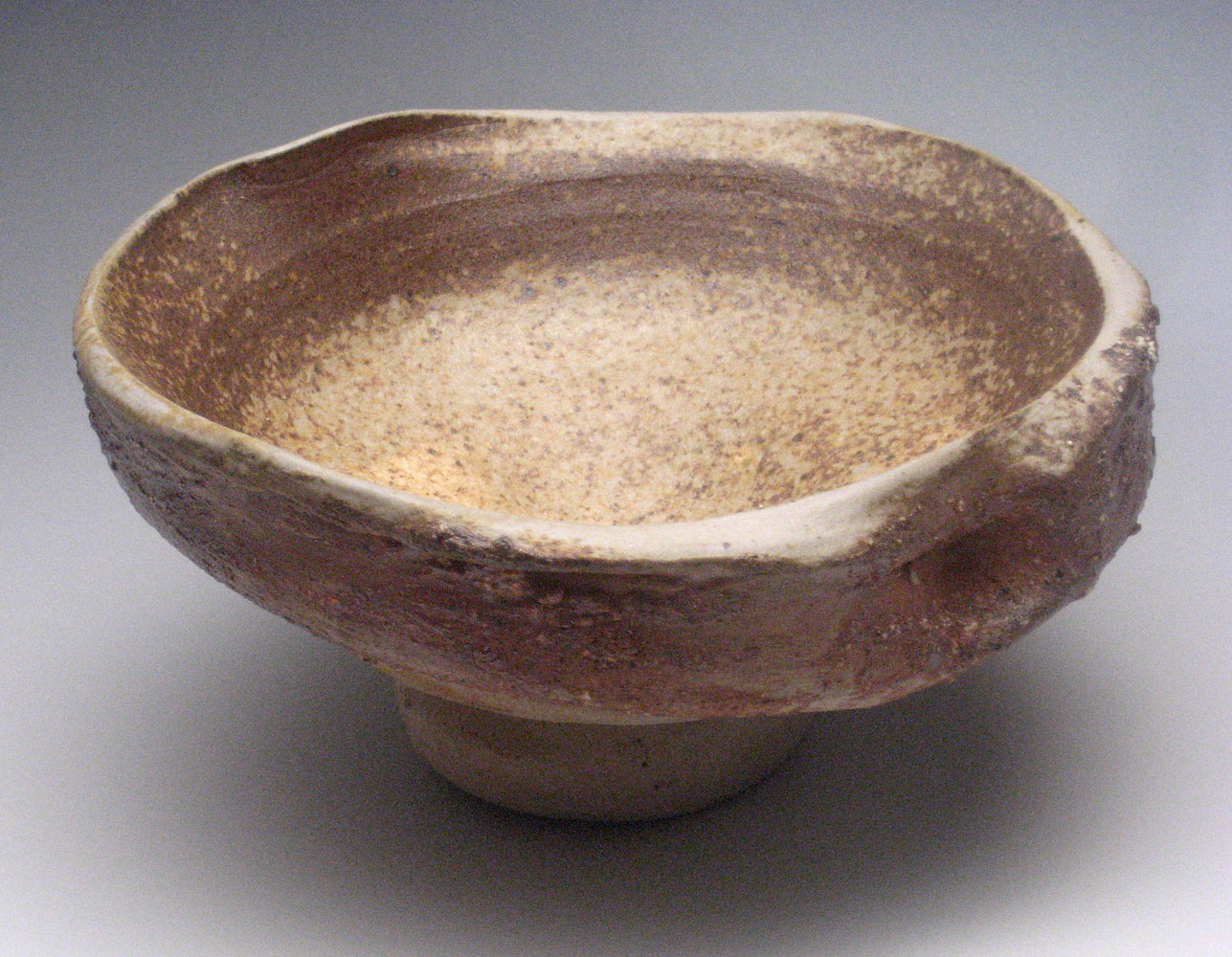 Double Walled Wood fired Bowl  by Sharon V Smith