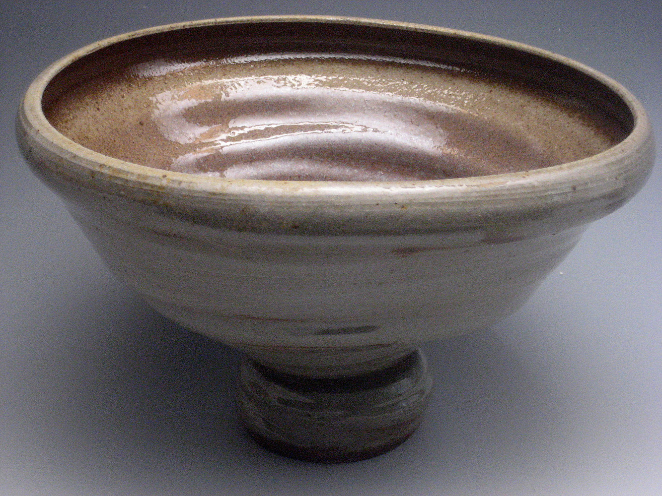 Large Wood fired Bowl  by Sharon V Smith