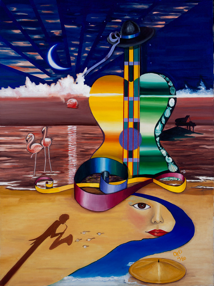 Photography Concert on the Ocean 17.5' X 12' Limited Edition Reproduction by Chía Ortegón