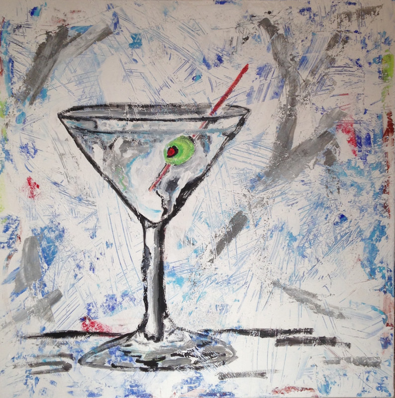 Vodka Martini-3 by Bernard Scanlan