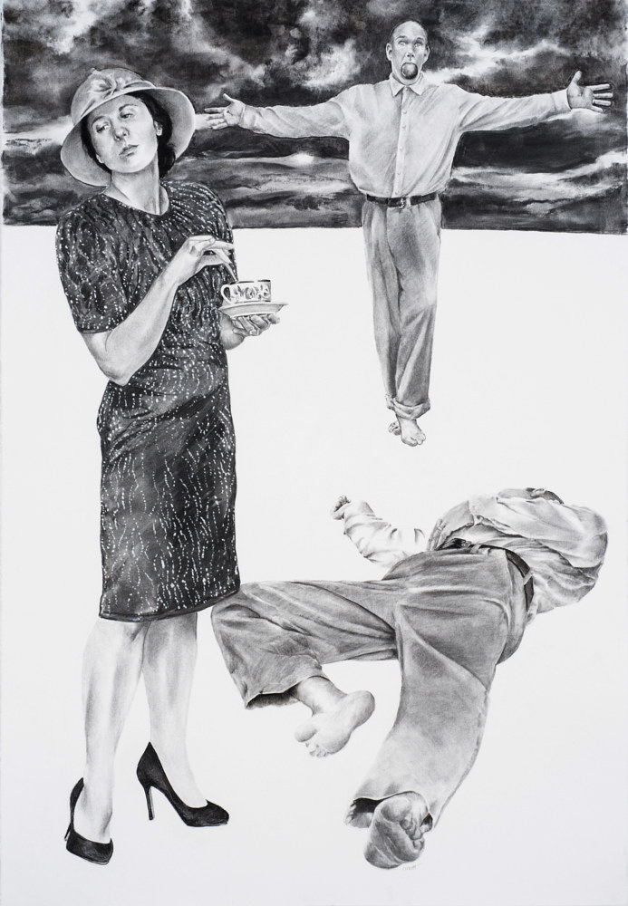 Drawing The Women Come and Go by Ellen Cornett
