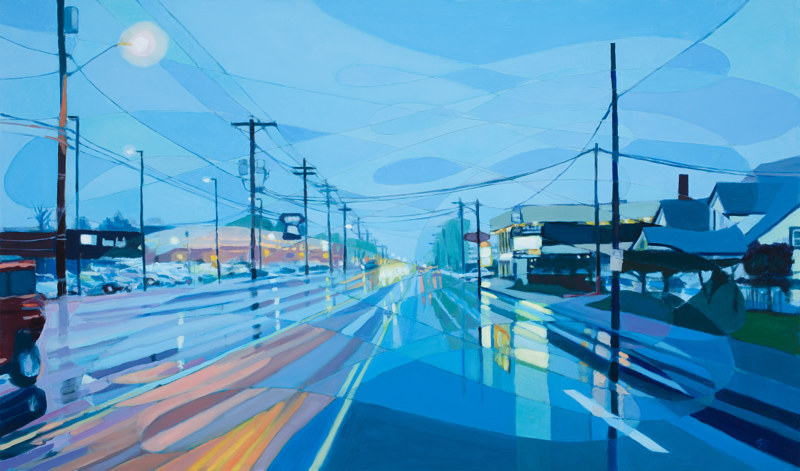 Oil painting SE 82nd no 3   by Shawn Demarest