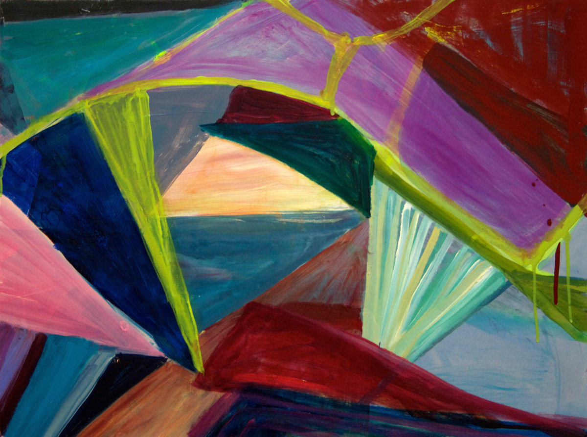 Oil painting Untitled # 1 by Susan Sharp