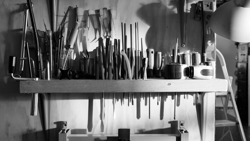 Inspiration - Handtool Rack by Wan-yi Lin