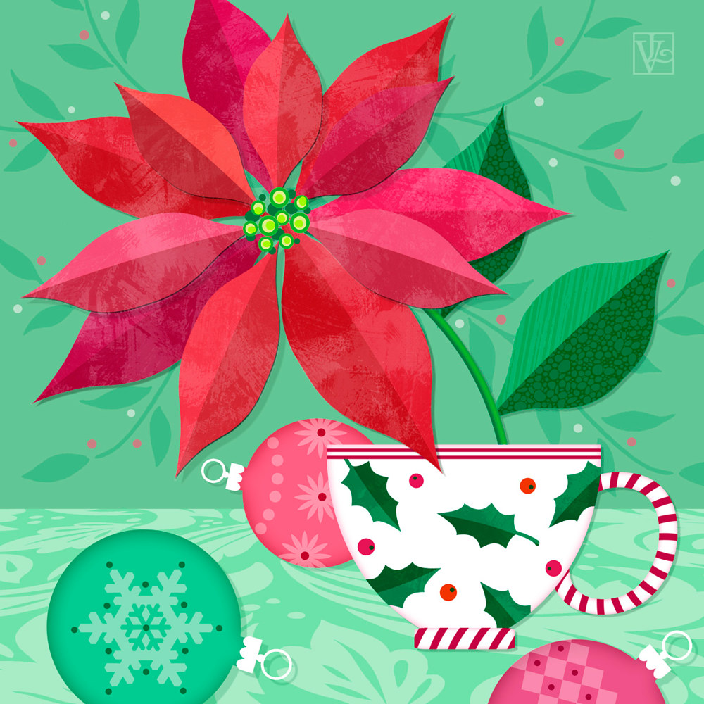 The Christmas Poinsettia by Valerie Lesiak