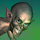 Gollum steals ring Christmas card by Steve Ferris