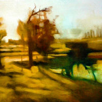 Oil painting Route 52 by Timothy Innamorato