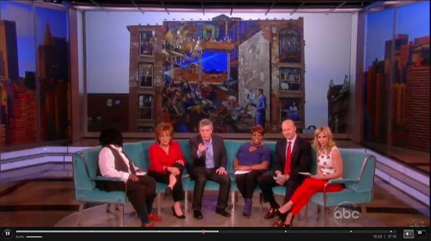 "Essex Street Gateway Mural on ""The View"" by Jeff Grassie"