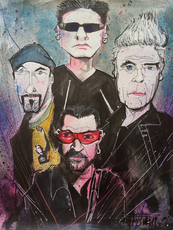 U2 by Joey Feldman