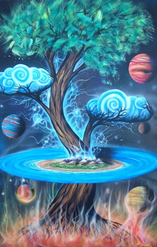 Yggdrasil II by Isaac Carpenter