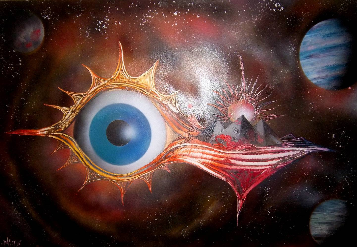Eye of Horus by Isaac Carpenter