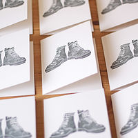 Leather Boots - Bespoke Rubber Stamp by ROSE WILLIAMS