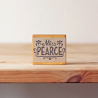 Miss Pearce - Bespoke Rubber Stamp by ROSE WILLIAMS