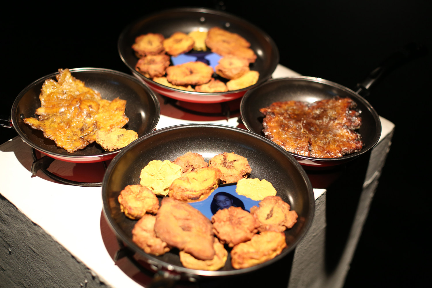 Tostones: Urban Folkloric at AS220 by Leenda Bonilla