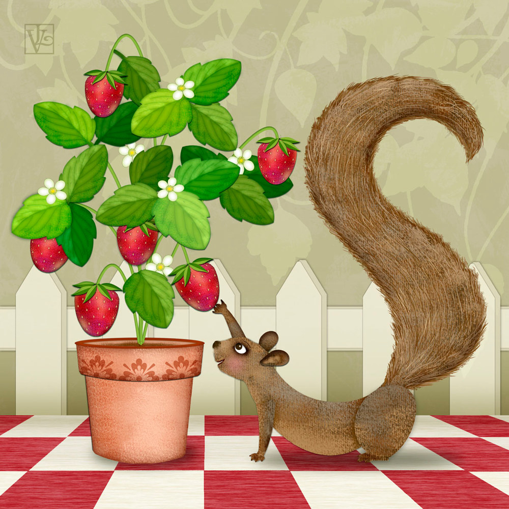 S is for Squirrel  by Valerie Lesiak