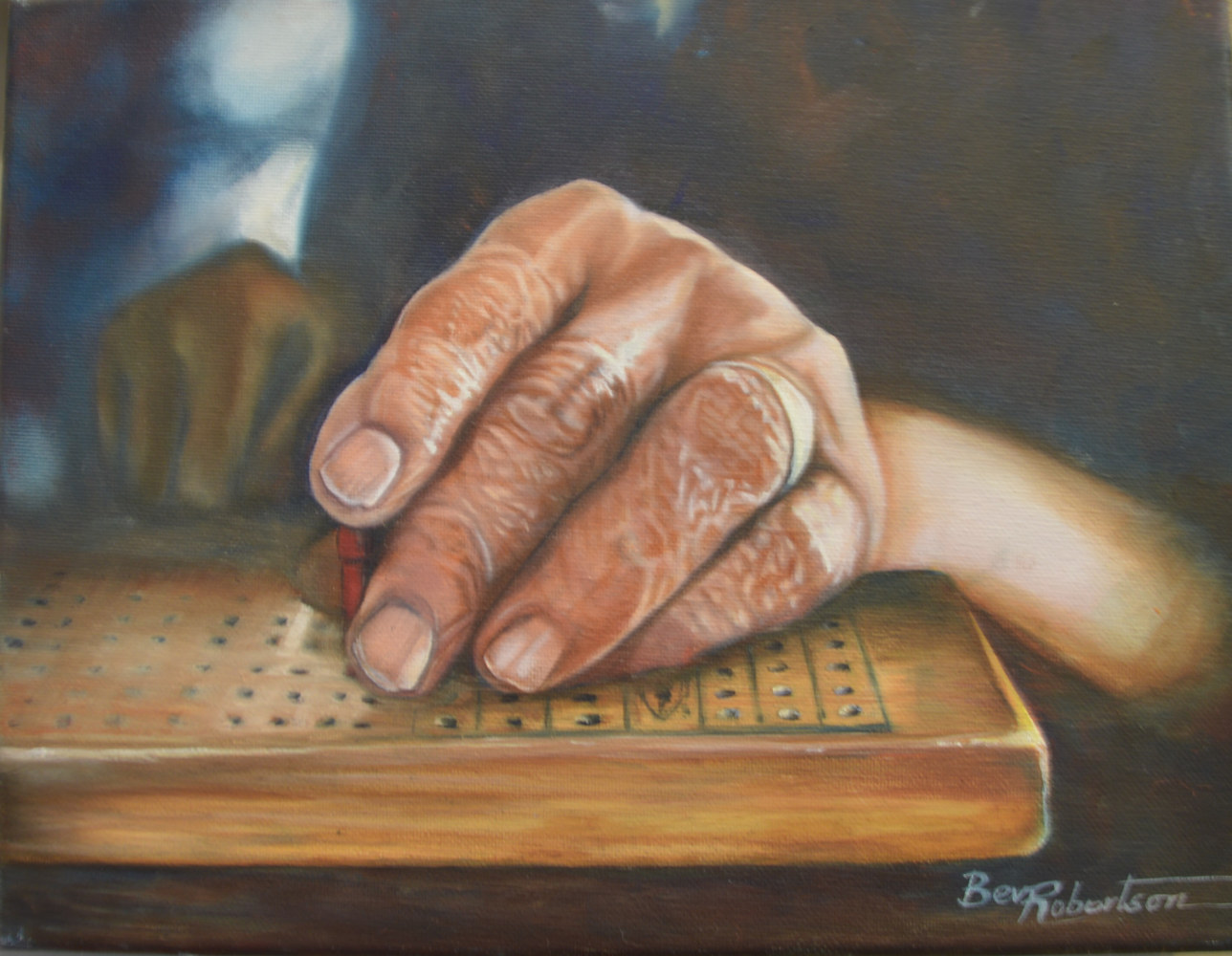 Another Hand Dealt in an Ageless Game by Bev Robertson