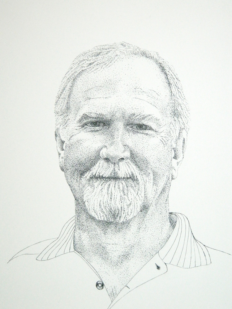 Drawing Steve by Jane Crosby