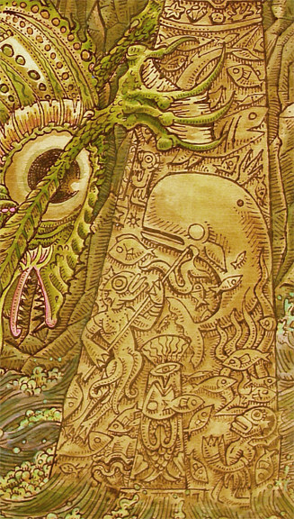 """Dagon"" detail by Kenneth M Ruzic"