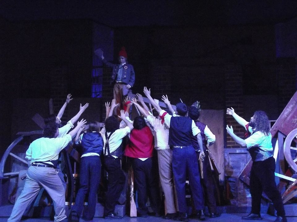 """Les Miserables"" Dakota Wesleyan University by Kathryn Cover"