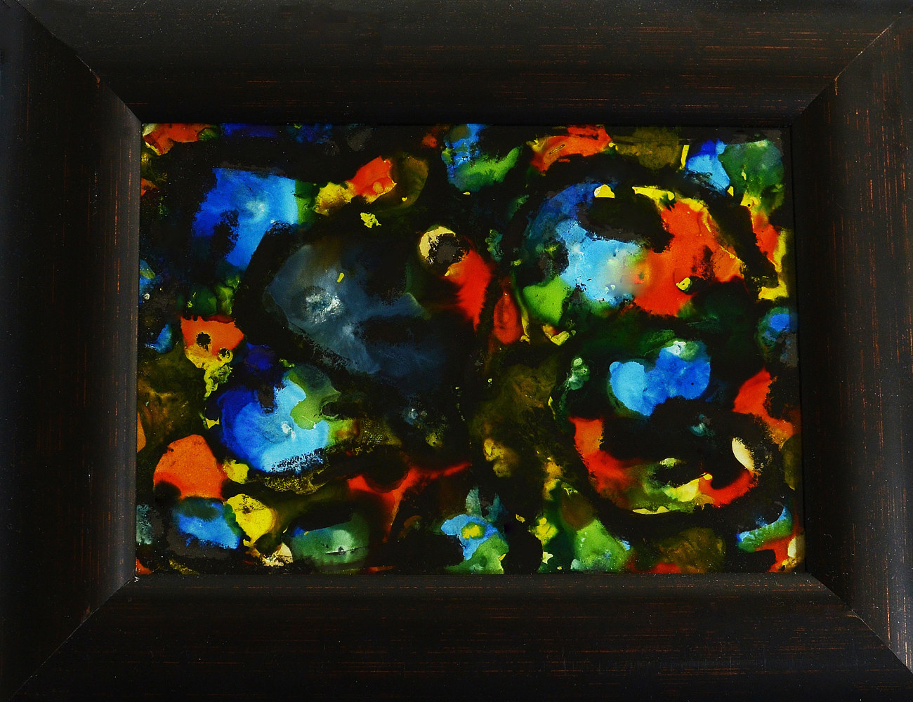 Reverse Glass Painting 17 by Ron Crowcroft
