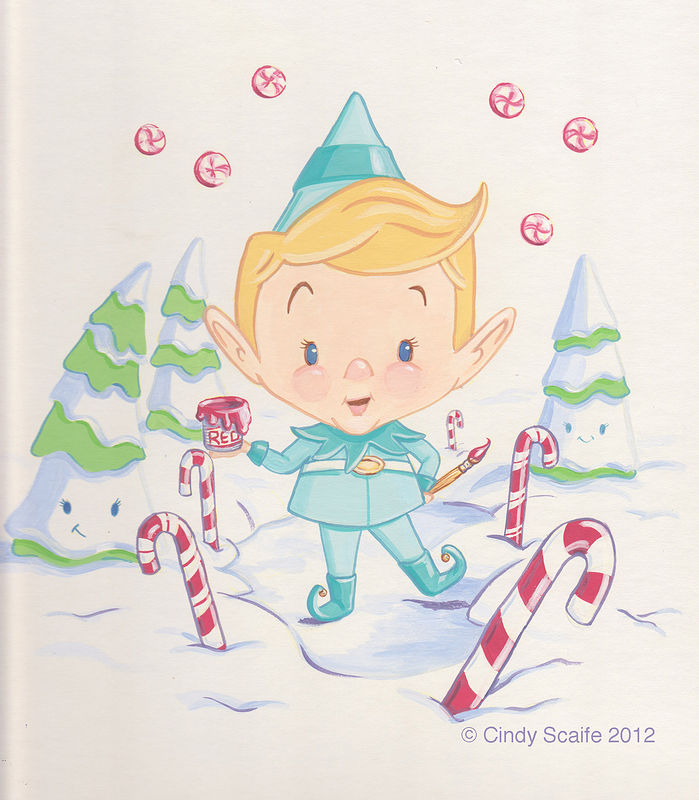 Cindy Scaife Illustration Christmas 2012 by Cindy Scaife