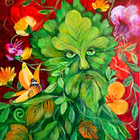 The Green Man by Jeanne Lloyd