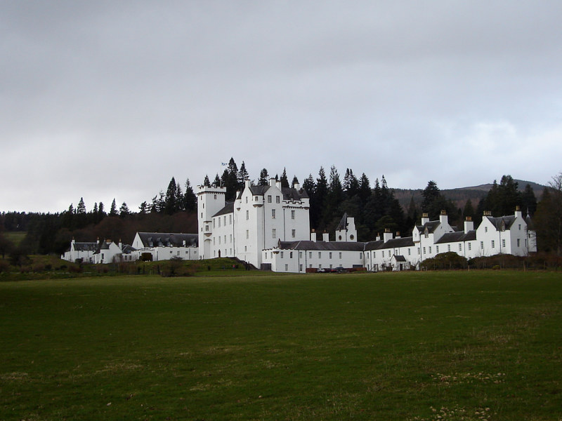 Blair Castle, Scotland by Ann Williams