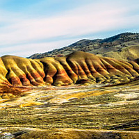 Painted Hills 16 stop 11X17 by William Kent