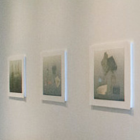 Print Surface Reader (installation view) by Morgan Wedderspoon