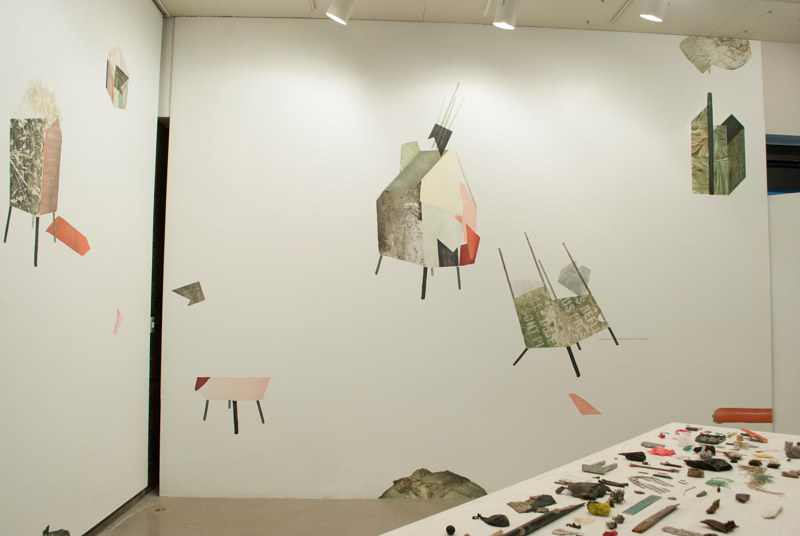 Print Dwellings (installation view: right side) by Morgan Wedderspoon
