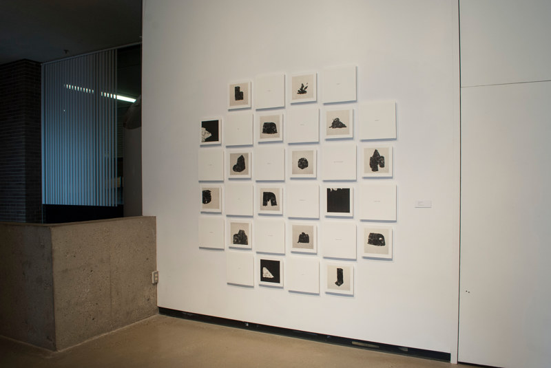Photography Coincidence (installation view) by Morgan Wedderspoon