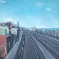 Oil painting Astoria  by Timothy Innamorato