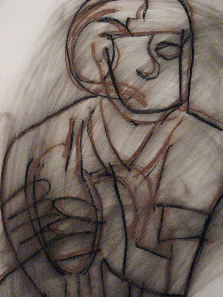 Drawing QB by Brian Rusconi