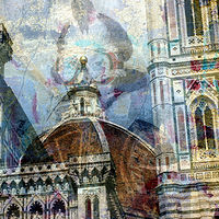 Print Duomo Graffiti by Linda Richardi