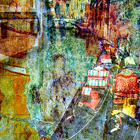 Print Venice Canal by Linda Richardi