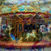 Print Carousel Plaza de Republica by linda richardi