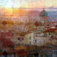 Print Temple Florence by Linda Richardi