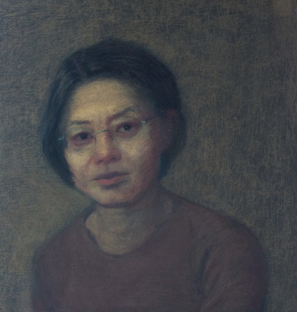 Self Portrait by Kumiko Buller